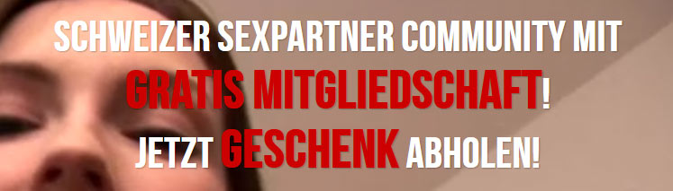 Schweizer Sexpartner Community